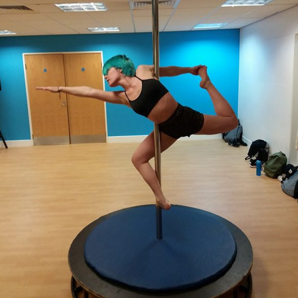Pole classes in Bournemouth, Ferndown and Poole